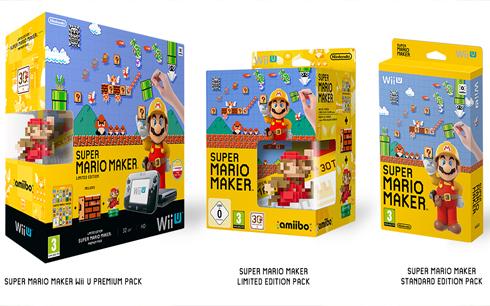 c2afde99cf96 Super Mario Maker Wii U Premium Pack: Tartalma egy fekete Wii U, dobozos  Super Mario Maker, egy keményfedeles művészeti album és egy különleges, 30.