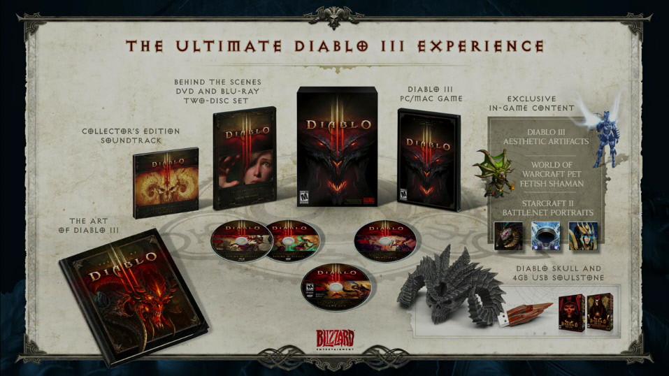 J�T�KOK - Diablo III - Gy�jt�i kiadv�ny, ingyen v�ltozat a WoW el�fizet�knek