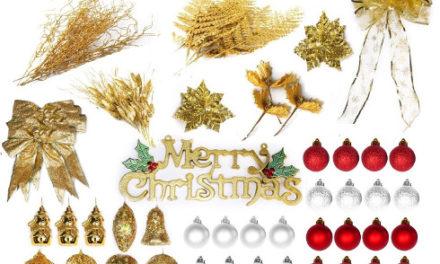LOOPOO karácsonyi dekorációs készlet LED-es fényfüzérrel – Hardverteszt
