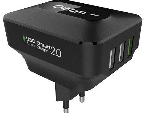 Oittm 3 USB-portos gyorstöltő – Hardverteszt