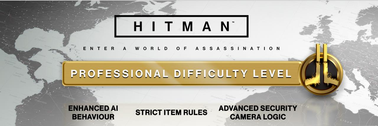HITMAN: Profi nehézségi fokozat érkezik