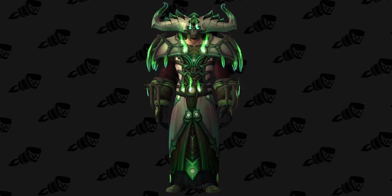 Warlock Tier 20 Armor Set bemutató