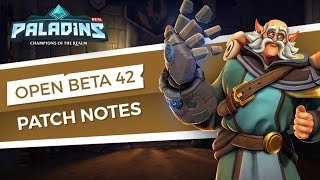 Paladins Open Beta 42. patch bemutató