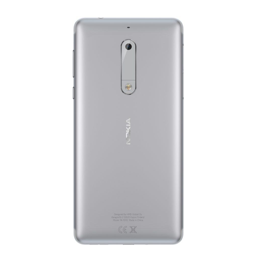 Nokia 5 Silver back