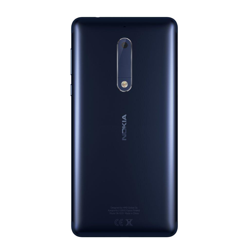 Nokia 5 Tempered Blue back