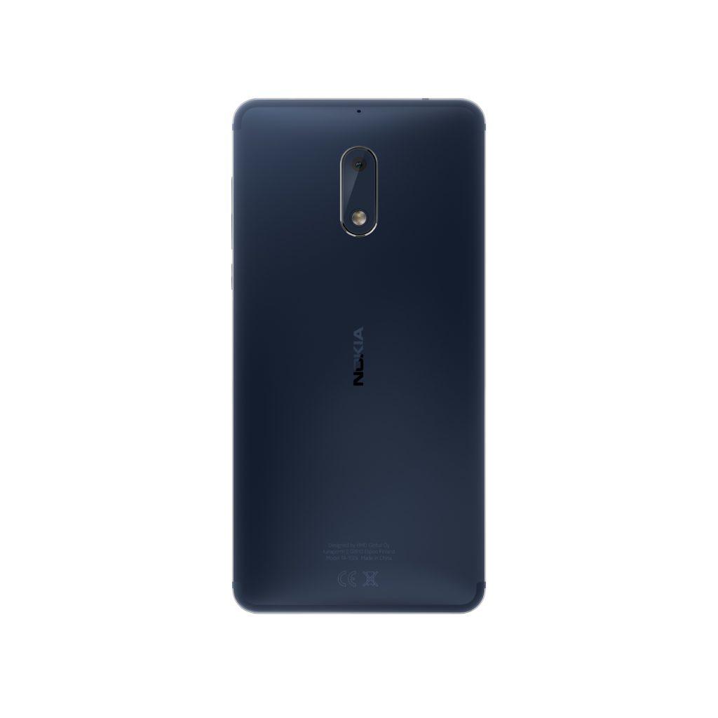 Nokia 6 Tempered Blue