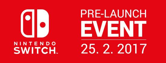 Nintendo Switch bemutató Prágában