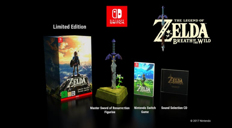 The Legend of Zelda: Breath of the Wild – A gyűjtői kiadás