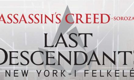 Assassin's Creed: Last Descendants – A New York-i felkelés – könyvkritika
