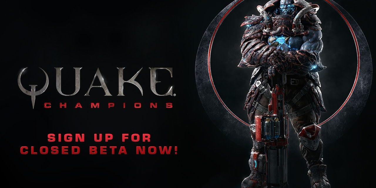 Quake Champions – Jelentkezz a zárt bétára