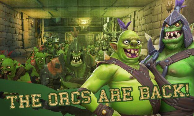 Megjelent az Orcs Must Die! Unchained