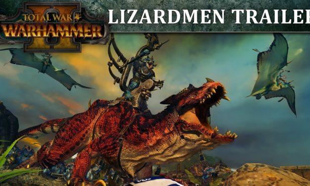 Total War: WARHAMMER 2 – Bemutatkoznak a Lizardmenek