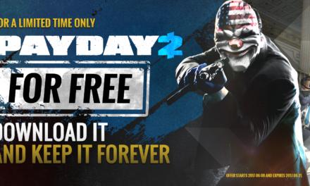 Ha sietsz, ingyen beszerezheted a PAYDAY 2-t Steamen!
