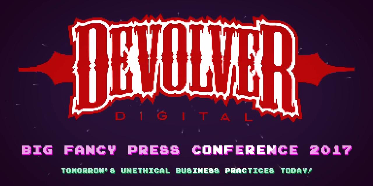 """Devolver Digital – """"E3 2017 Sajtókonferencia"""""""