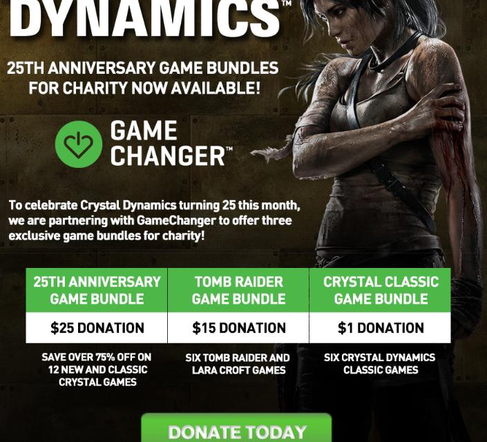 Crystal Dynamics Adománygyűjtés