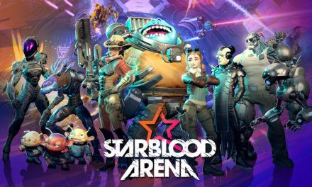 Starblood Arena VR bemutató