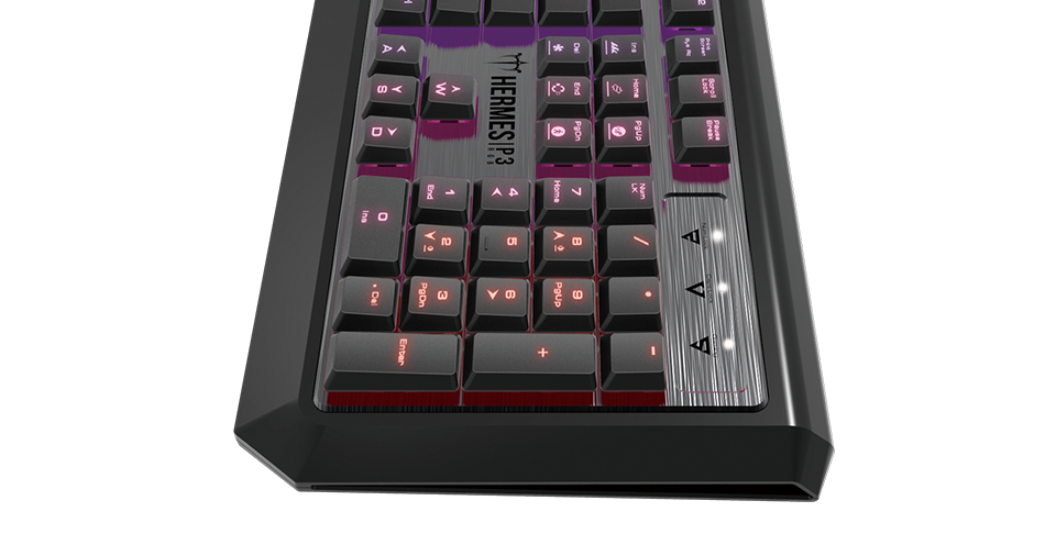 Gamdias Hermes P3 RGB – Gamer billentyűzet teszt