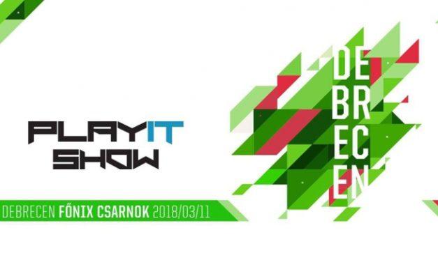 PlayIT Debrecen 2018 – Beharangozó