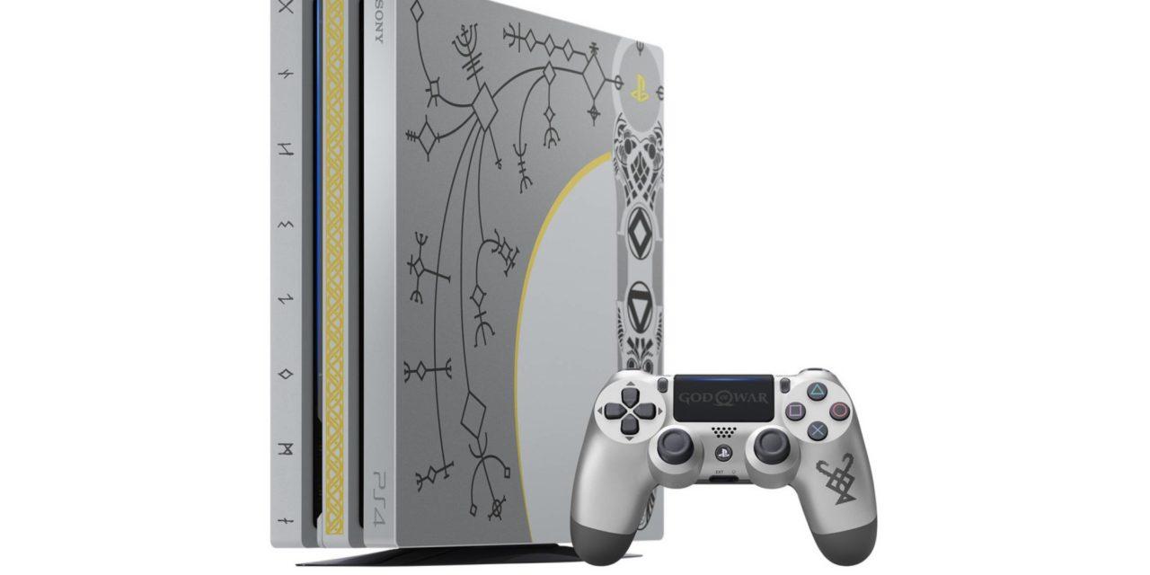 Limitált God of War PS4 Pro Bundle közeleg