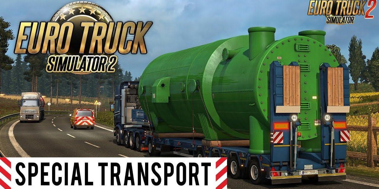 Euro Truck Simulator 2 Special Transport DLC – Játékteszt