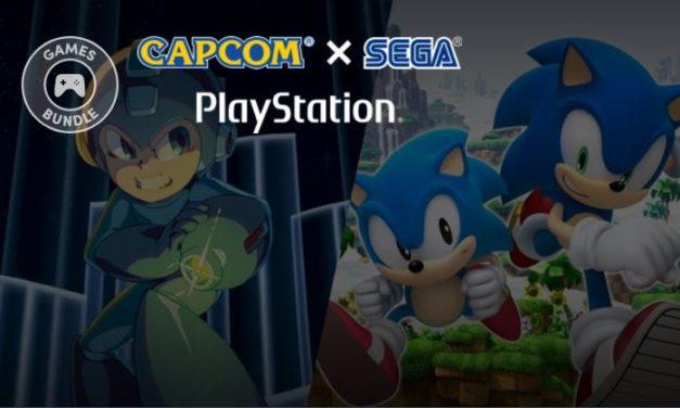 Humble Capcom X SEGA PlayStation Bundle