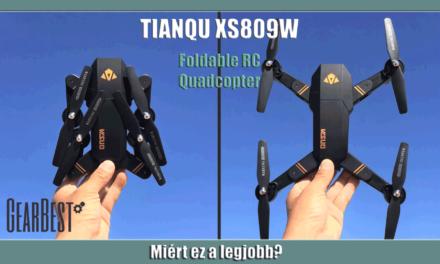 Miért ez a legjobb? – Tianqu XS809W drón