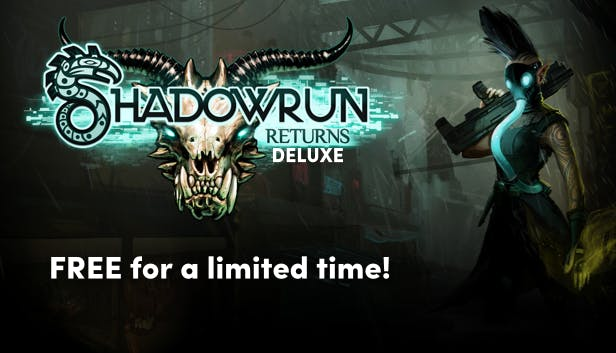 Shadowrun Returns Deluxe – Most ingyenes!