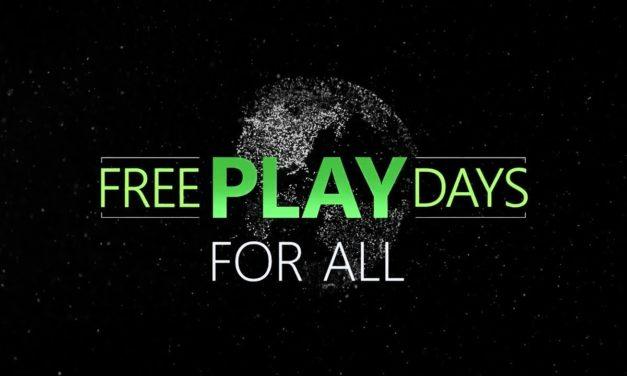 Ismét Free Play Days Xbox One-on!