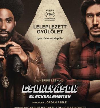 Csuklyások – BlacKkKlansman – Filmkritika