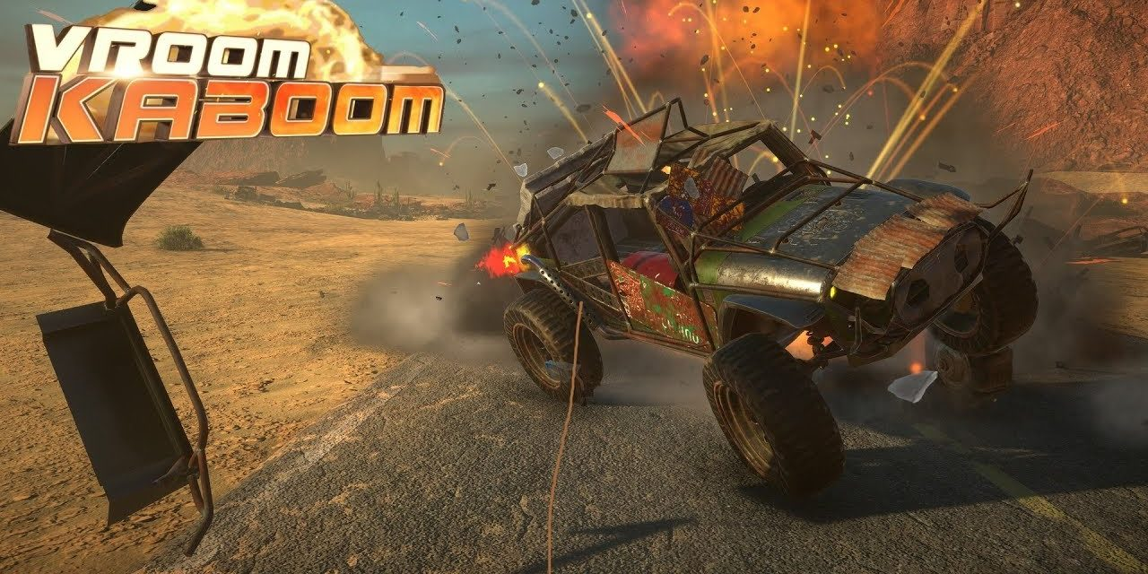 Vroom Kaboom – VR játékteszt