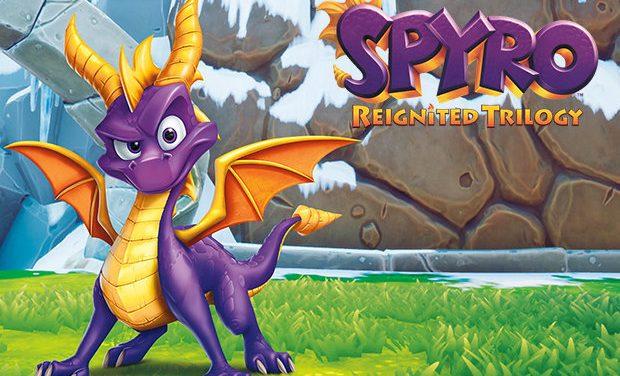 Spyro: Reignited Trilogy – Switch Játékteszt