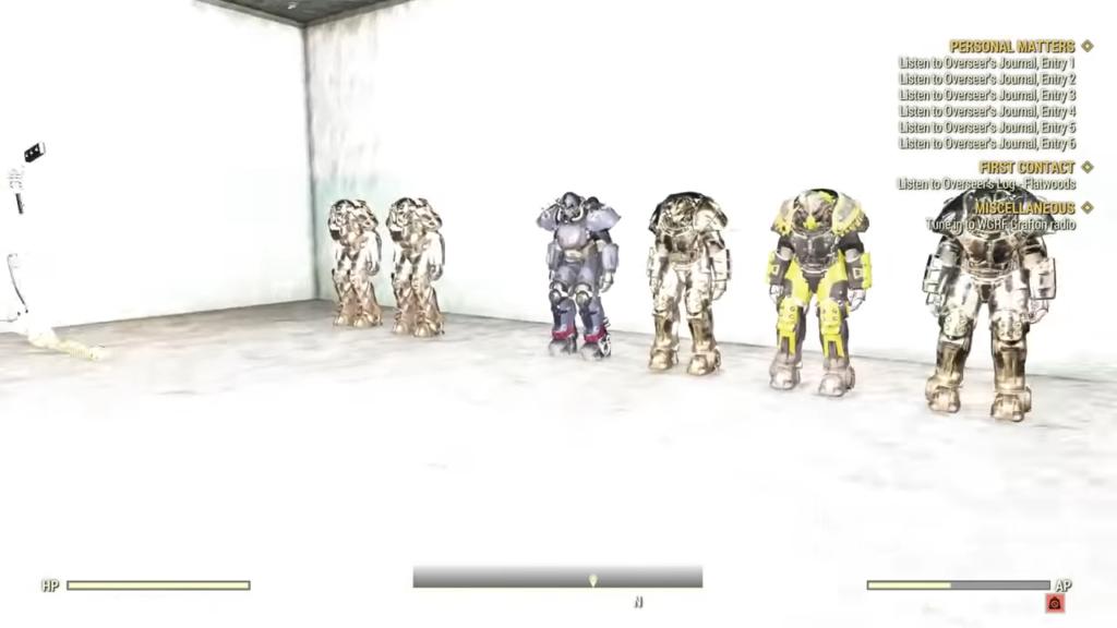 Fallout 76 Developer Room 3-2 screenshot