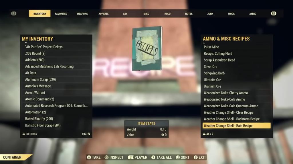 Fallout 76 Developer Room 3-25 screenshot
