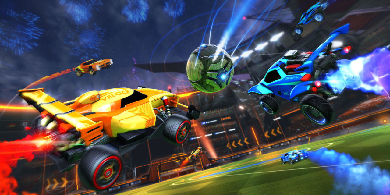 Jön a crossplatfrom party Rocket League-be