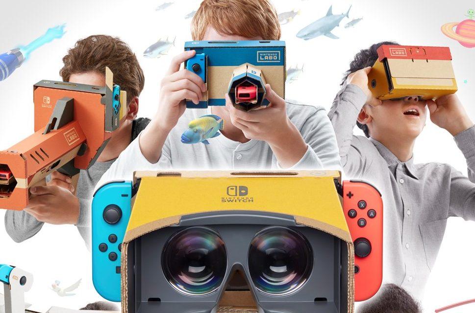 Nintendo VR Heatset érkezik Labo kit formájában