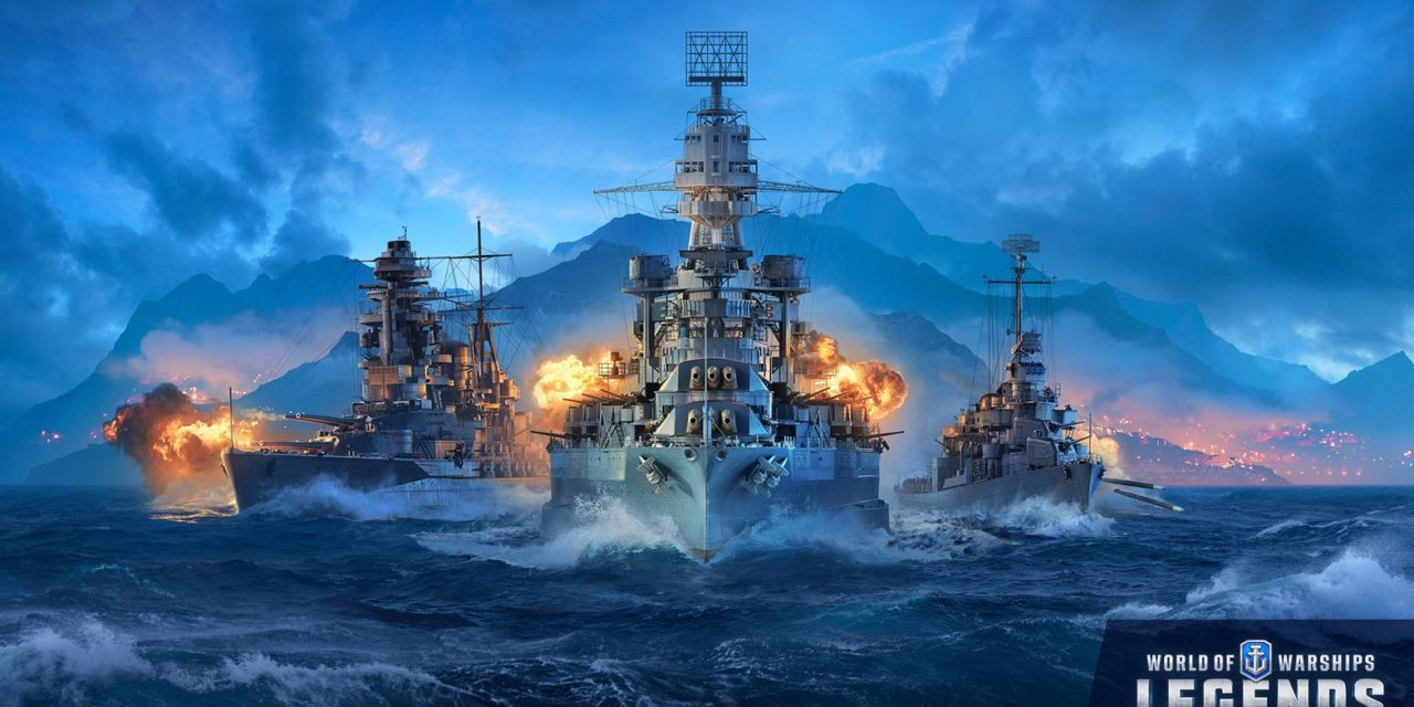 Megérkezett PS4-re és Xbox One-ra a World of Warships: Legends!