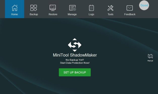MiniTool ShadowMaker Free – Teszt