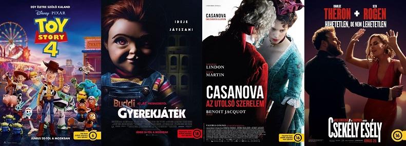 Aktuális mozipremierek 25. hét