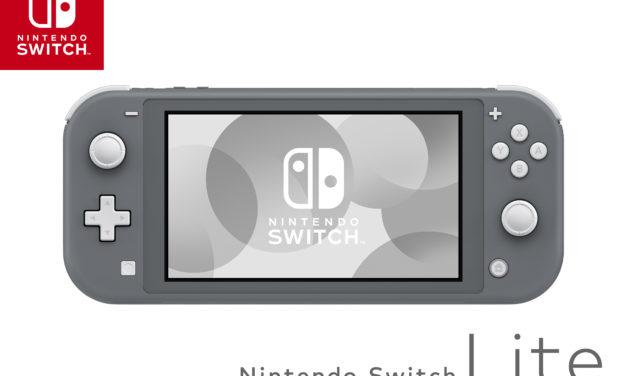 Bemutatkozott a Nintendo Switch Lite!