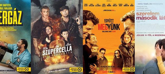 Aktuális mozipremierek 28. hét
