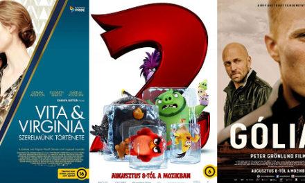 Aktuális mozipremierek 32. hét