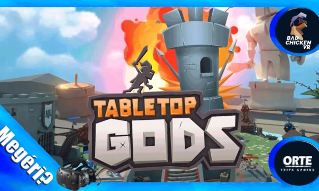 Tabletop Gods – VR Játékteszt
