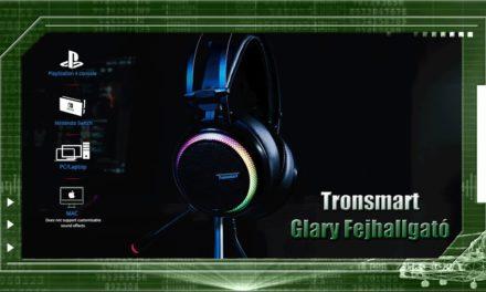 Tronsmart Glary 7.1 – Fülhallgató teszt
