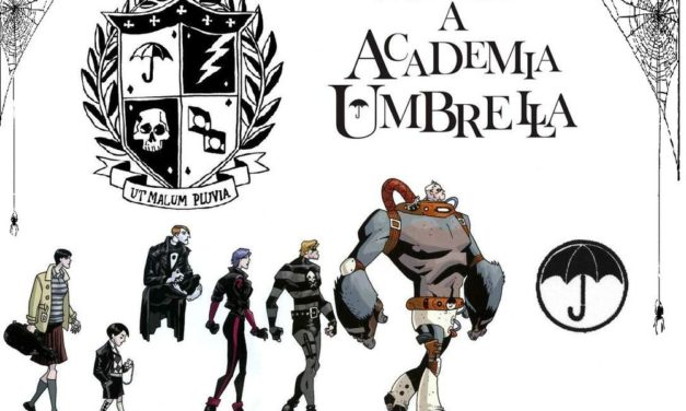 Az esernyő akadémia – Képregény ajánló