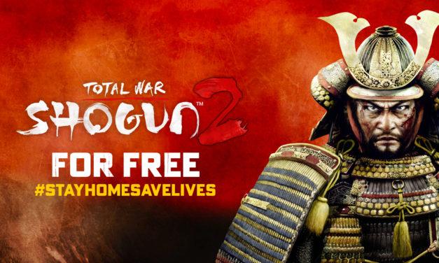 A Total War: Shogun 2 is csatlakozott az ingyenes játékok táborához