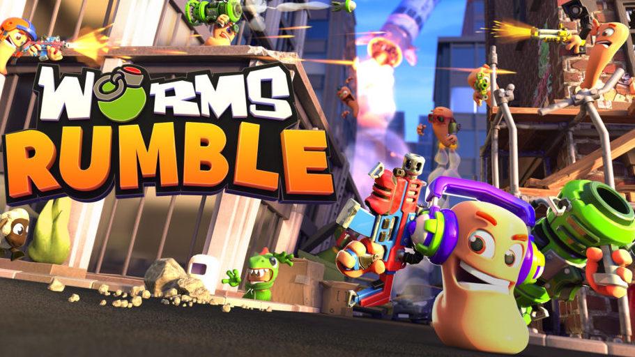 Worms Rumble Open Beta Betekintő